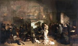 Gustave Courbet, L'Atelier du peintre, Musée d'Orsay, Paris