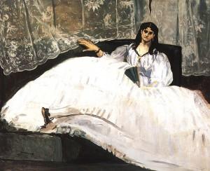 La maîtresse de Baudelaire. Édouard Manet