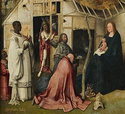 Jérôme Bosch, L'Epiphanie, Musée du Prado, commons.wikimedia.org