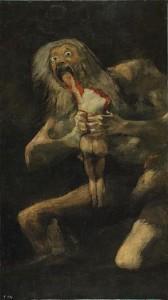 Goya, Saturne dévorant son enfant, Musée du Prado, Madrid