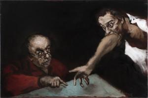Gérard Garouste, Le Pacte, source : Galerie Daniel Templon