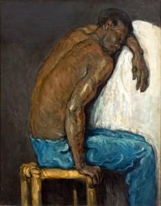 Paul Cézanne, Le nègre Scipion, Musée des Arts de Sao Paulo