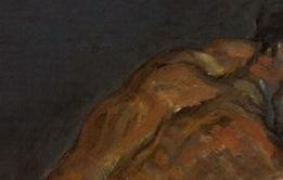 Paul Cézanne, Le nègre Scipion, Détail