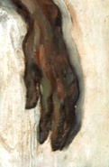 Paul Cézanne, Le nègre Scipion, Détail,