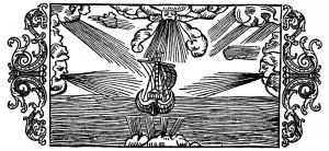 Olaus Magnus Historia om de nordiska folken. Bok 1 - Kapitel 6 - Om vindarnas namn och verkningar. Utgivningsår 1555.