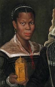 Annibale Carrache, Portrait d'une esclave, commons.wikimedia.org