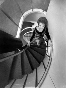 Escalier en spirale du Boeing 747