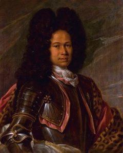 Portrait d'un aristocrate mulâtre attribué à François de Troy
