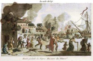 Insurrection des esclaves au Cap-Français.
