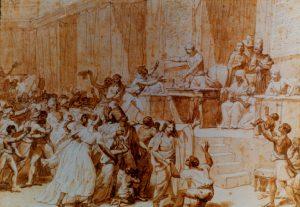 Avec Jeanne Odo à la tribune, les esclaves entre dans la Convention