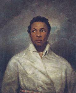 Ira Aldridge dans le rôle d'Othello, tableau attribué à James Northcote