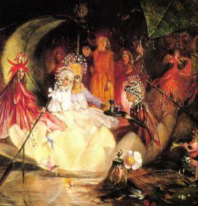 John Anster Fitzgerald, Le mariage d'Oberon et de Titania