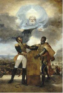 Lethière, Le serments des ancêtres, rencontre entre Dessalines et Pétion en 1804