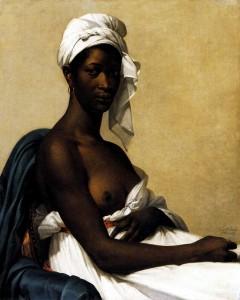 Marie-Guillemine Benoist, Portrait d'une ancienne esclave, Musée du Louvre.