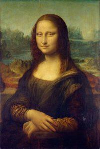 Léonard de Vinci, la Joconde ou portrait de Mona Lise, Musée du Louvre