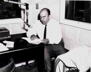 Pablo Neruda en 1966