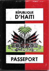 Mon premier passeport était haïtien