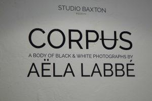 Aëla Labbé, vernissage de l'exposition Corpus au Studio Baxton, 2016, Bruxelles