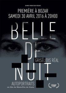 Affiche du film documentaire Belle de nuit - Grisélidis Réal Autoportrait