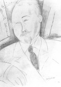 Guillaume Apollinaire par Amadeo Modigliani