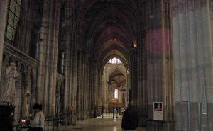 Cathédrale-basilique Saint-Denis, mai 2016