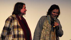 Françoise Hoste la productrice et Marie-Eve de Grave, la réalisatrice