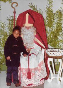 Christophe-Géraldine découvre saint Nicolas