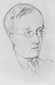Gustav Holst, William Rothenstein, 1920, Wikimedia.org
