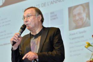 Jean-Claude Vantroyen, responsable du supplément littéraire du quotidien belge Le Soir