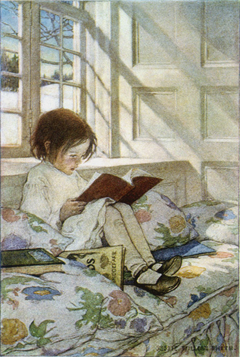 Jesse Wilcox Smith, A girl reading