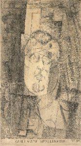 Louis Marcoussis, Portrait de Guillaume Apollinaire 