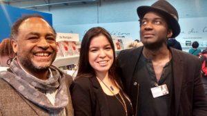 Trio poète : Rodney Saint_Eloi, Natasha Kanapé Fontaine, Marc Alexandre Oho Bambe, facebook.com