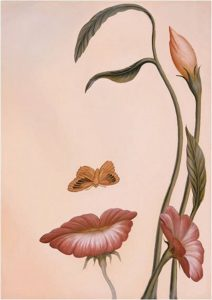 Octavio Ocampo, mouth of flowers