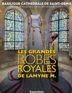 Les grande Robes Royales, affiche, source : website du styliste