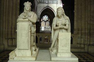 Cathédrale-basilique Saint-Denis, Louis XVI et Marie_Antoinette, 3 mai 2016