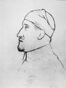 Portrait de Guillaume Apollinaire par Pablo Picasso