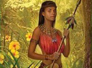 Cacique Anacaona, la reine-guerrière poétesse du royaume taïnos de Xaragua d'Ayiti
