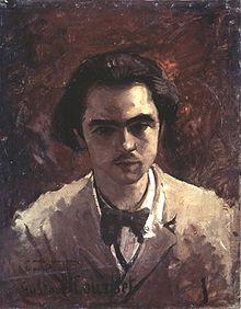 Paul Verlaine jeune par Gustave Courbet, bildindex.de