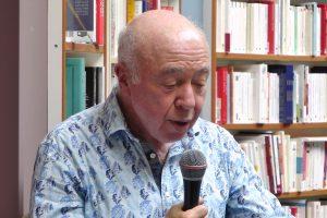 Le poète, philosophe et essayiste Jacques Sojcher, vagabondssanstreves.com