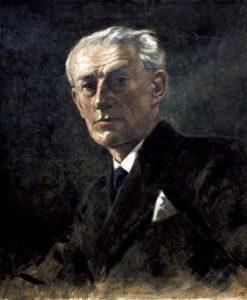 Maurice Ravel peint par Adof Nauer en 1930
