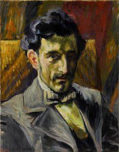 Maurice Ravel peint par Henri Manguin en 1903
