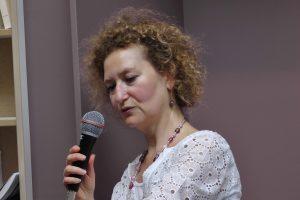 La peintre, psychologue et psychanalyste Rachel Silski, vagabondssanstreves.com