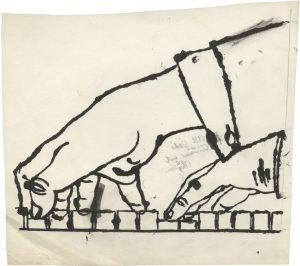 Andy Warhol, dessin