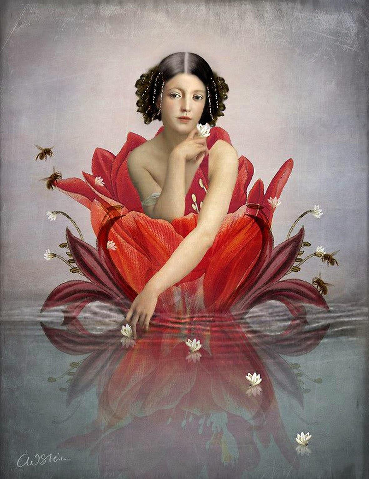Catrin Welz-Stein, Floating Flower, source : website de l'artiste