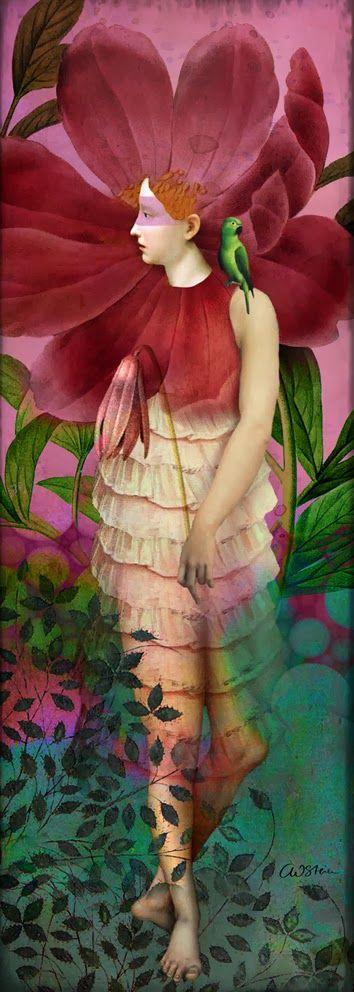 Catrin Welz-Stein, Red gardens, source : catrinwelzstein.blogspot.be