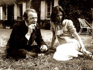 Gilles Deleuze et son ancienne étudiante Claire Parnet, source : alchetron.com