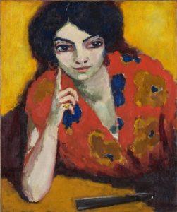 Kees van Dongen, Woman with a finger on her cheek, Museum Boijmans Van Beuningen, Rotterdam