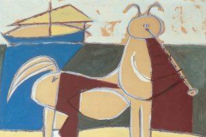 Pablo Picasso, Le Centaure et le navire, 1946, artplastoc.blogspot.be