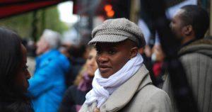 Scène du film Trop noire pour être française