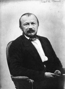 Gérard de Nerval, Portrait par Félix Nadar, commons.wikimedia.org